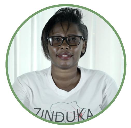 Cess wangui Zinduka Team Kenya